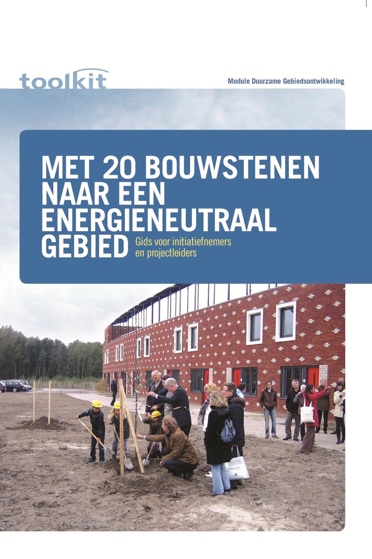 Met 20 bouwstenen naar een energieneutraal gebied