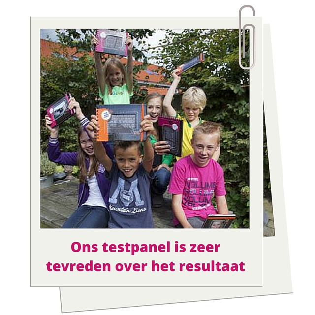 Ons testpanel is enthousiast